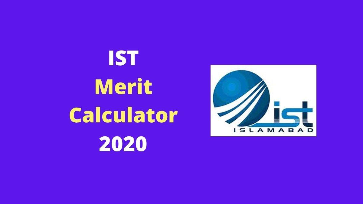 IST Merit Calculator 2020