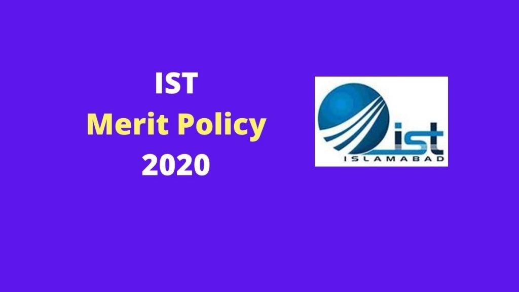 IST New Merit Policy 2020