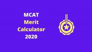 MeritMCAT Merit Calculator by EduManias