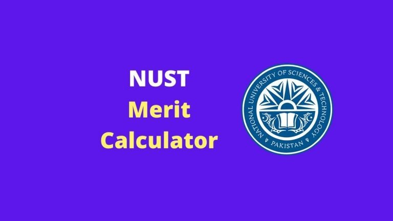 NUST Merit Calculator 2020