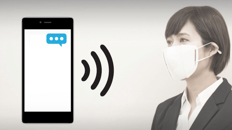 A Tech Startup at Japan uses Bluetooth to Create Smart Connected Face Mask for Coronavirus New Normal