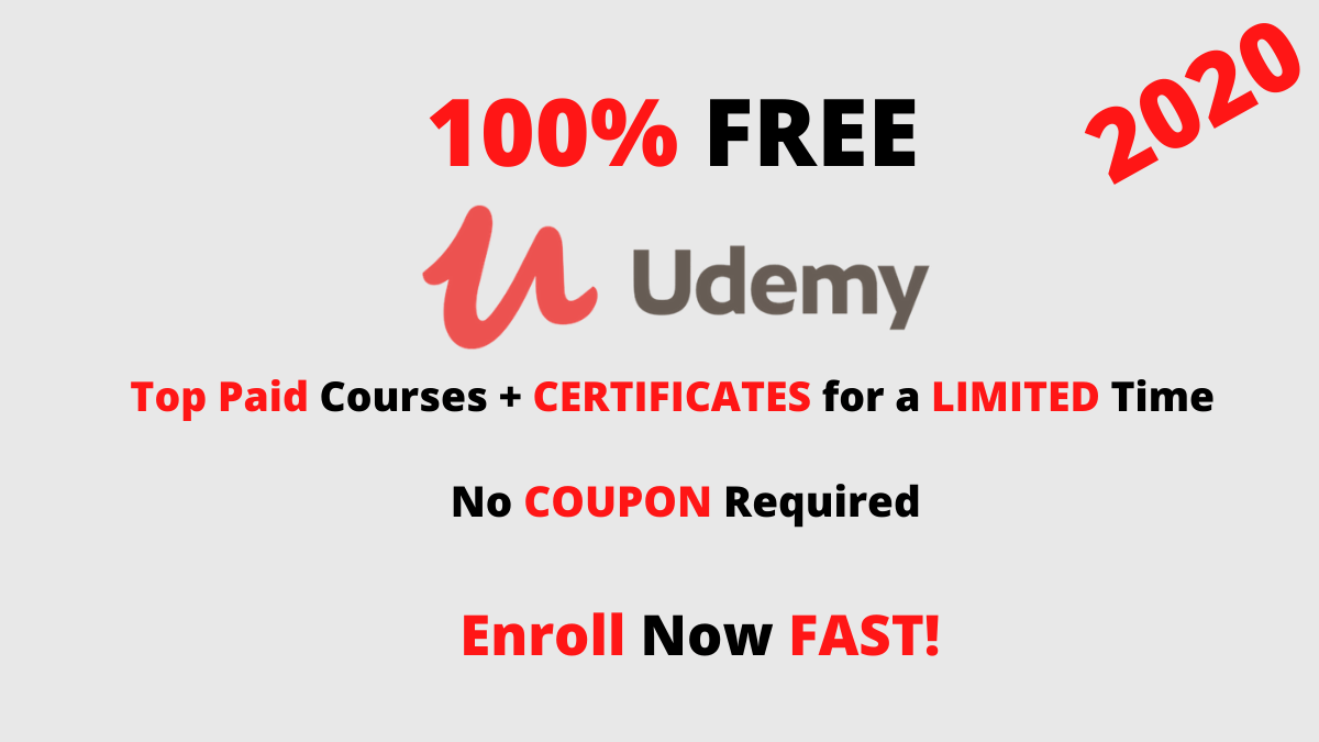 top updated free udemy courses