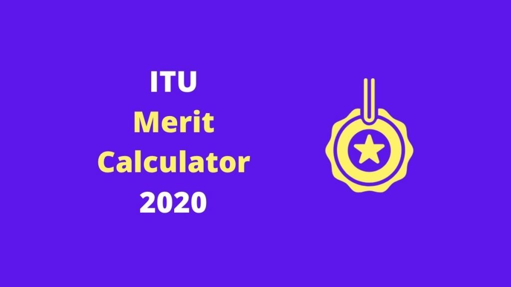 ITU Merit Calculator 2020