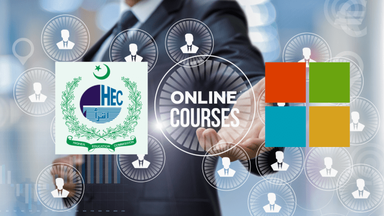 HEC and Microsoft to Launch FREE Microsoft Certification from Home for Students in Pakistan