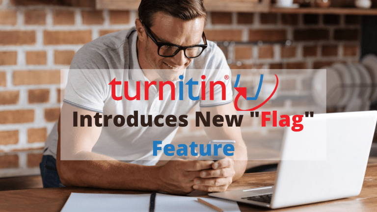 "Turnitin Software Introduces a New Feature ""Flags"""