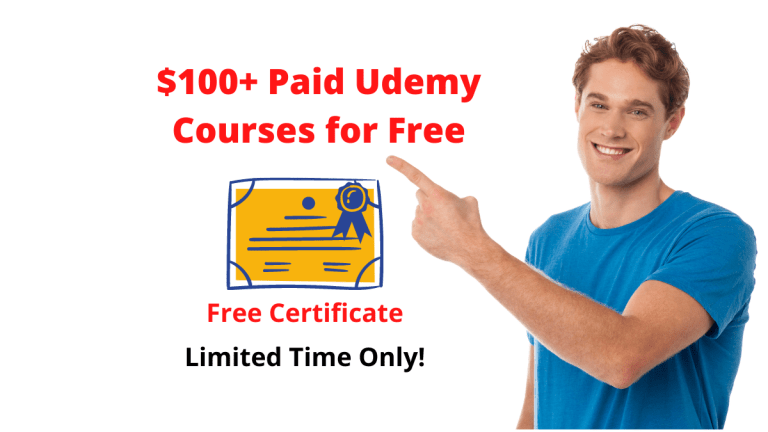 35+ Top Best Udemy Free Courses September 2020 [Updated Daily]