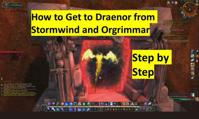 How to Get to Draenor from Stormwind and Orgrimmar