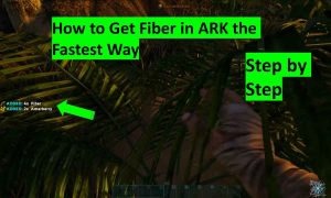 How to get fiber in ARK the fastest way