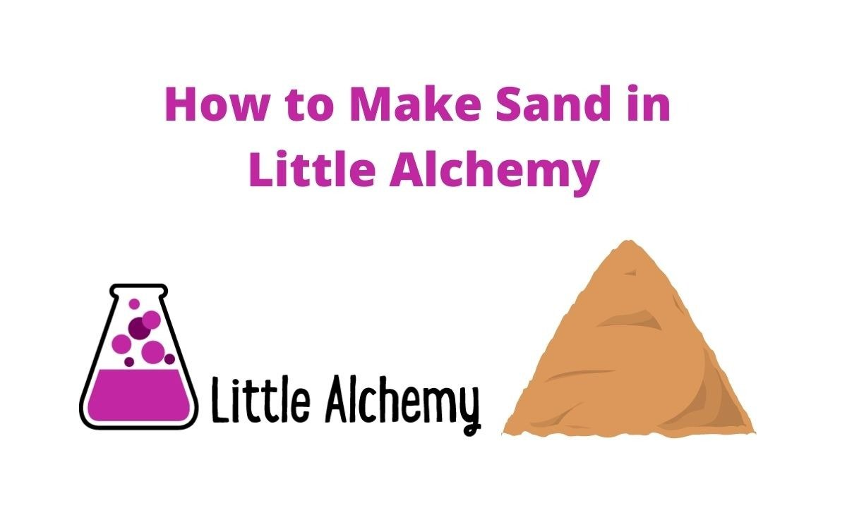 How to make sand in Little Alchemy