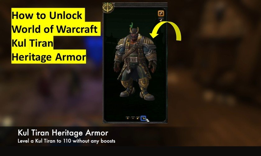 How to unlock Kul Tiran heritage armor
