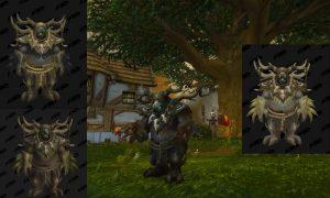 Kul Tiran human druid moonkin form
