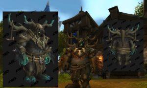 Kul Tiran human druid moonkin incarnation form