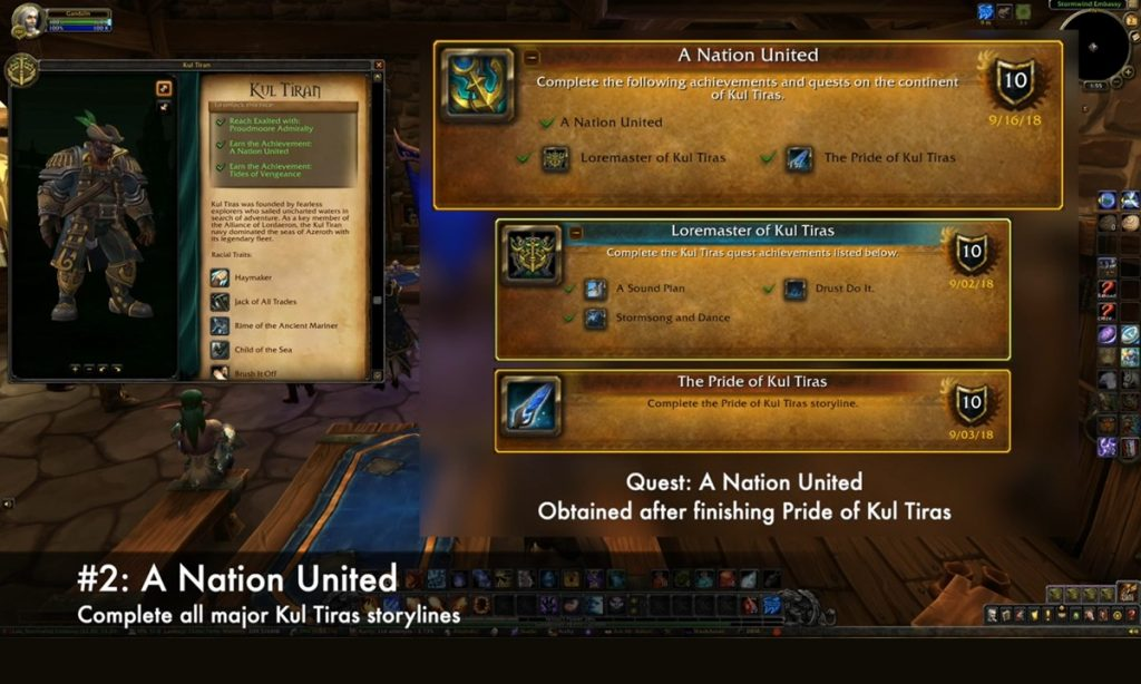 Second requirement to unlock Kul Tiran Humans