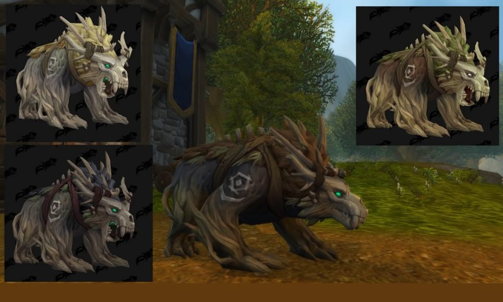 World of warcraft Kul Tiran human druid bear form