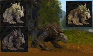 World of warcraft Kul Tiran human druid bear form 1