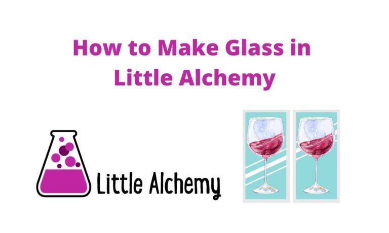 How to Make Glass in Little Alchemy Hints