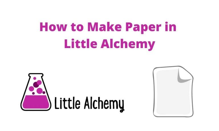 How to Make Paper in Little Alchemy 4 Hints