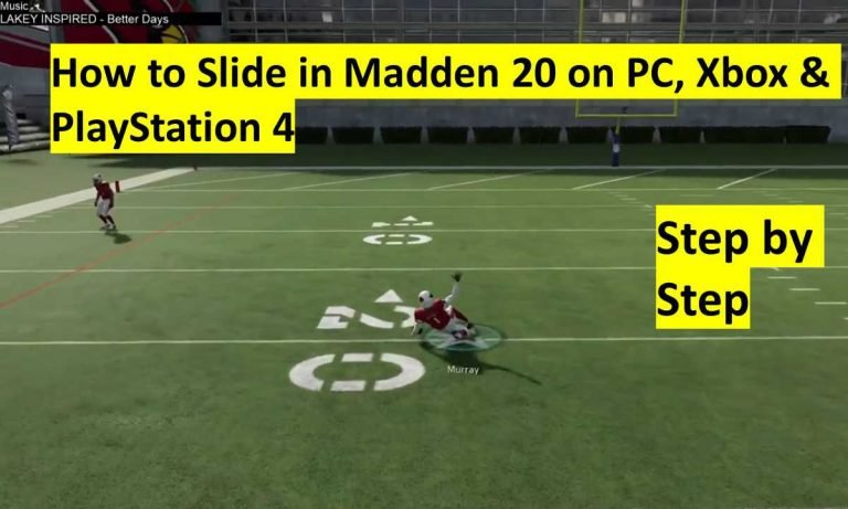 How to Slide in Madden 20 on PC, Xbox & PlayStation 4