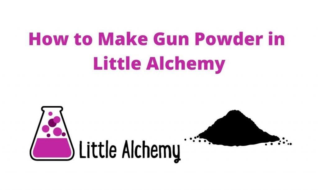 how to make gunpowder in littlealchemy 2