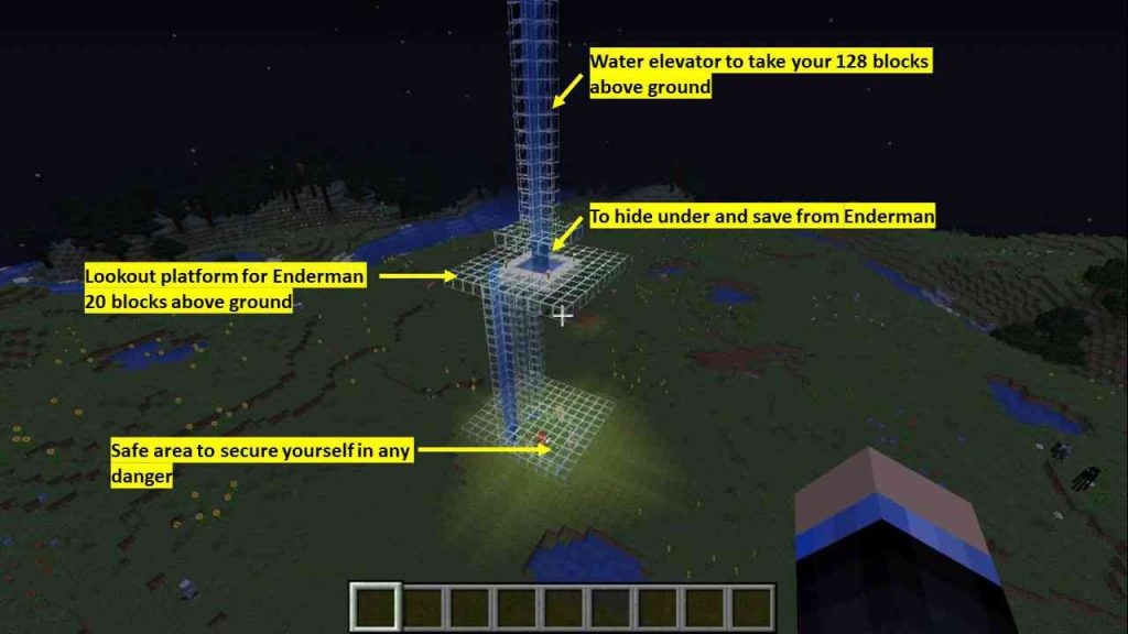 where to find enderman in Overworld Minecraft