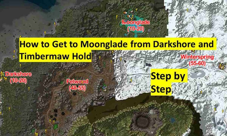 How to Get to Moonglade Classic Wow
