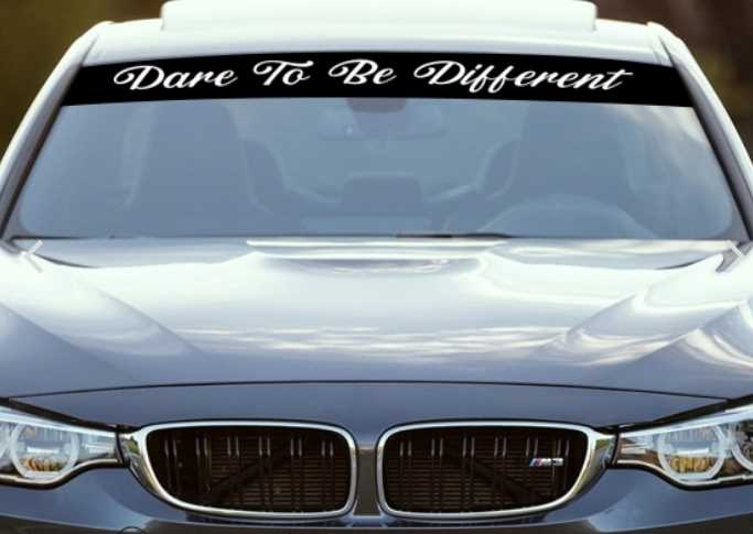 Tips For Designing The Ultimate Windshield Decals For Better Attractive Level