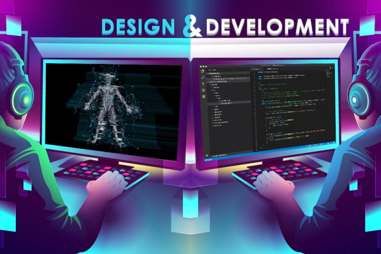 Key differences between game development and game design