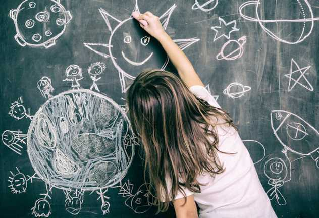 Kids Get Dreamy When it Comes to Learning About Space