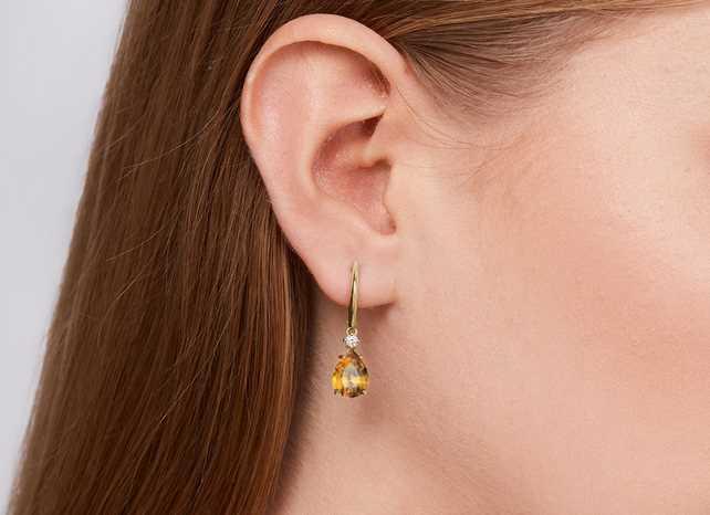 The subtle magic of earrings