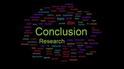 write strong conclusion for a critical essay