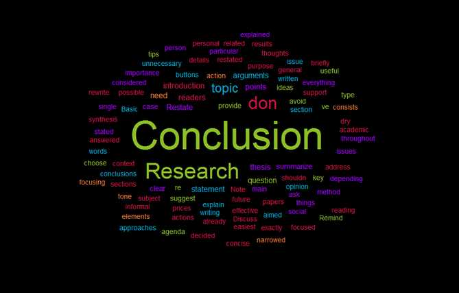 How to Write a Strong Conclusion for a Critical Essay
